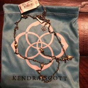 Kendra Scott Grant Y necklace - Vintage Gold